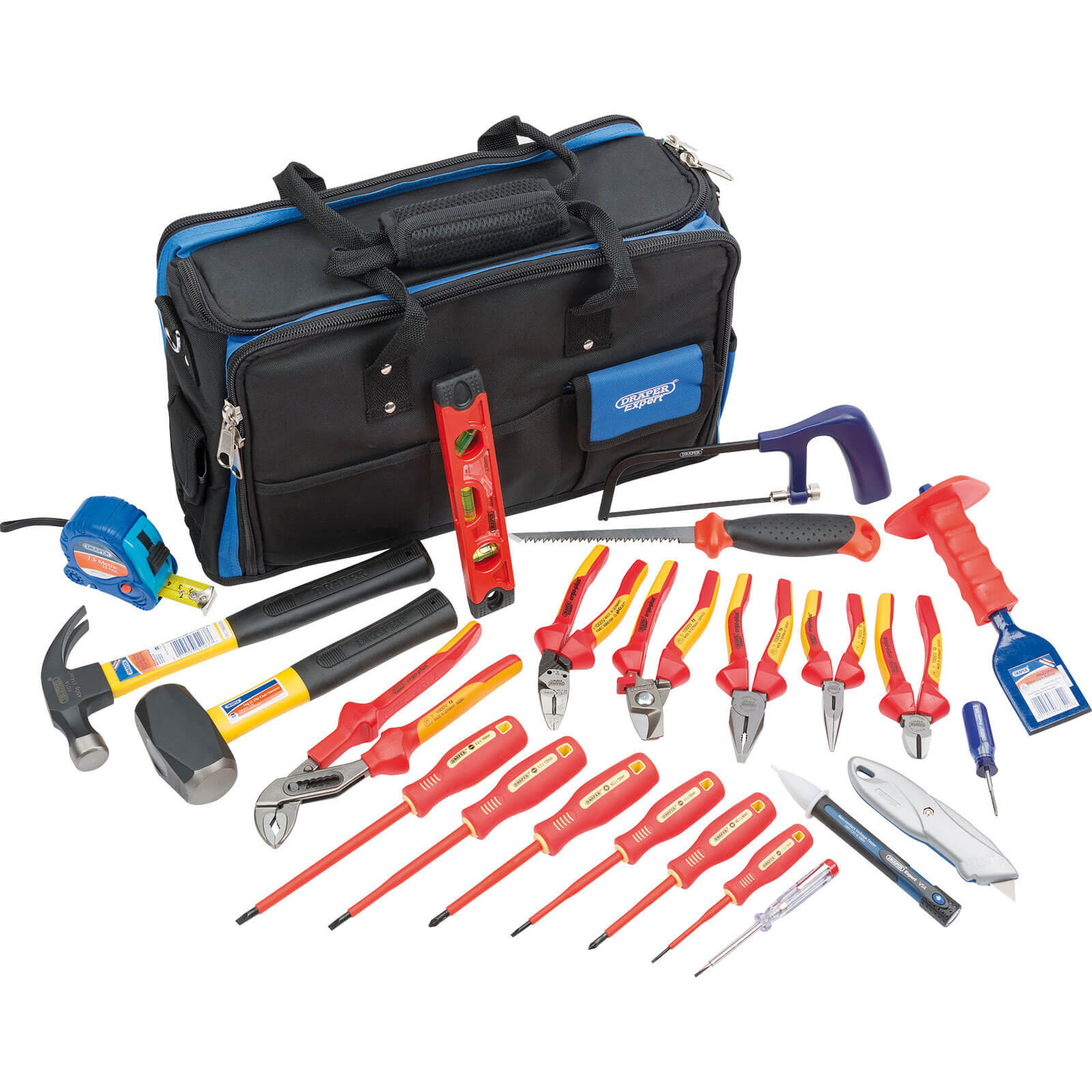 Draper 23 Piece Professional Electricians Tool Kit