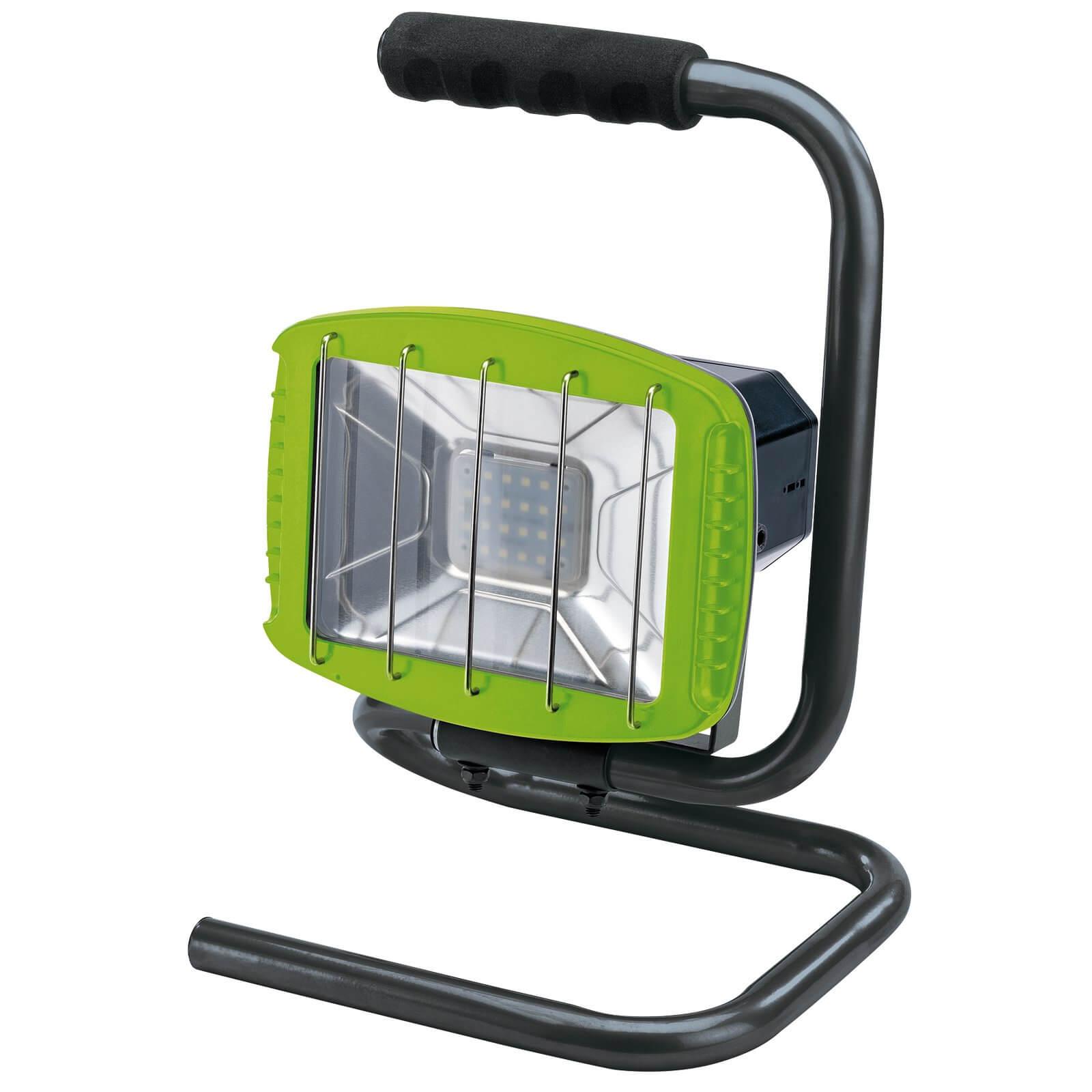 Image of Draper Worklight & Wireless Speaker Green 240v
