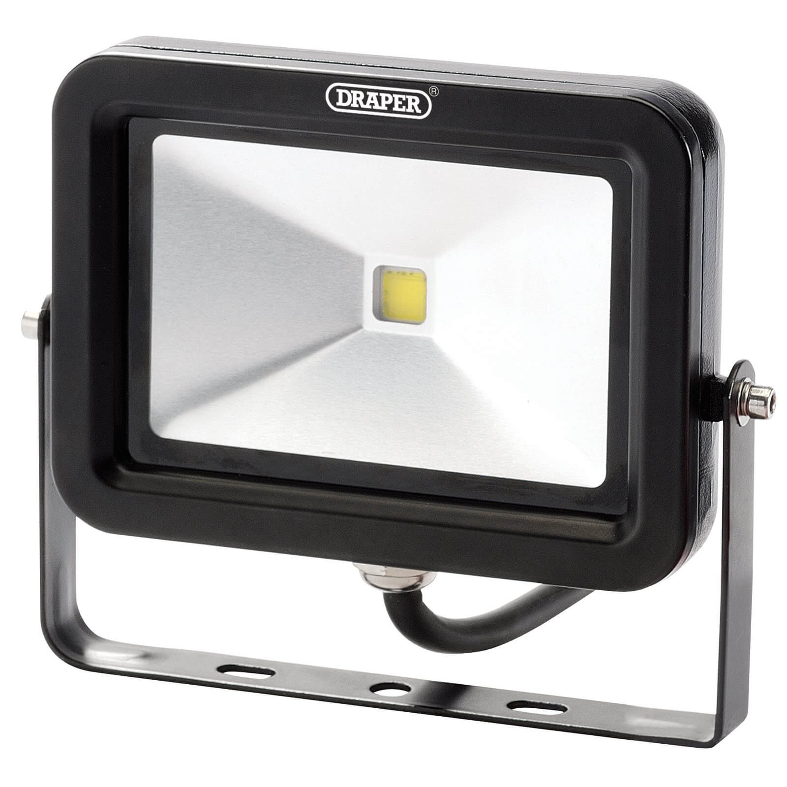Image of Draper COB LED Slimeline Wall Mounted Floodlight 10 Watts
