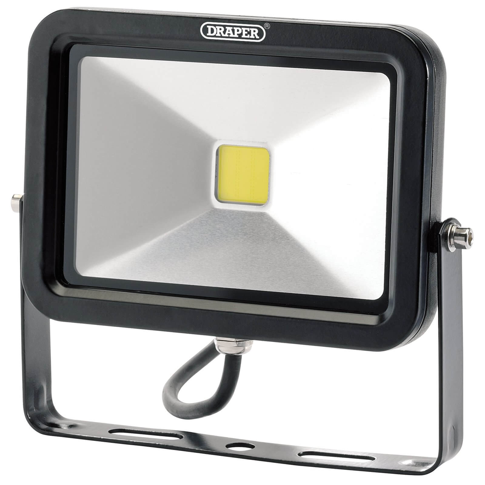 Image of Draper COB LED Slimeline Wall Mounted Floodlight 20 Watts