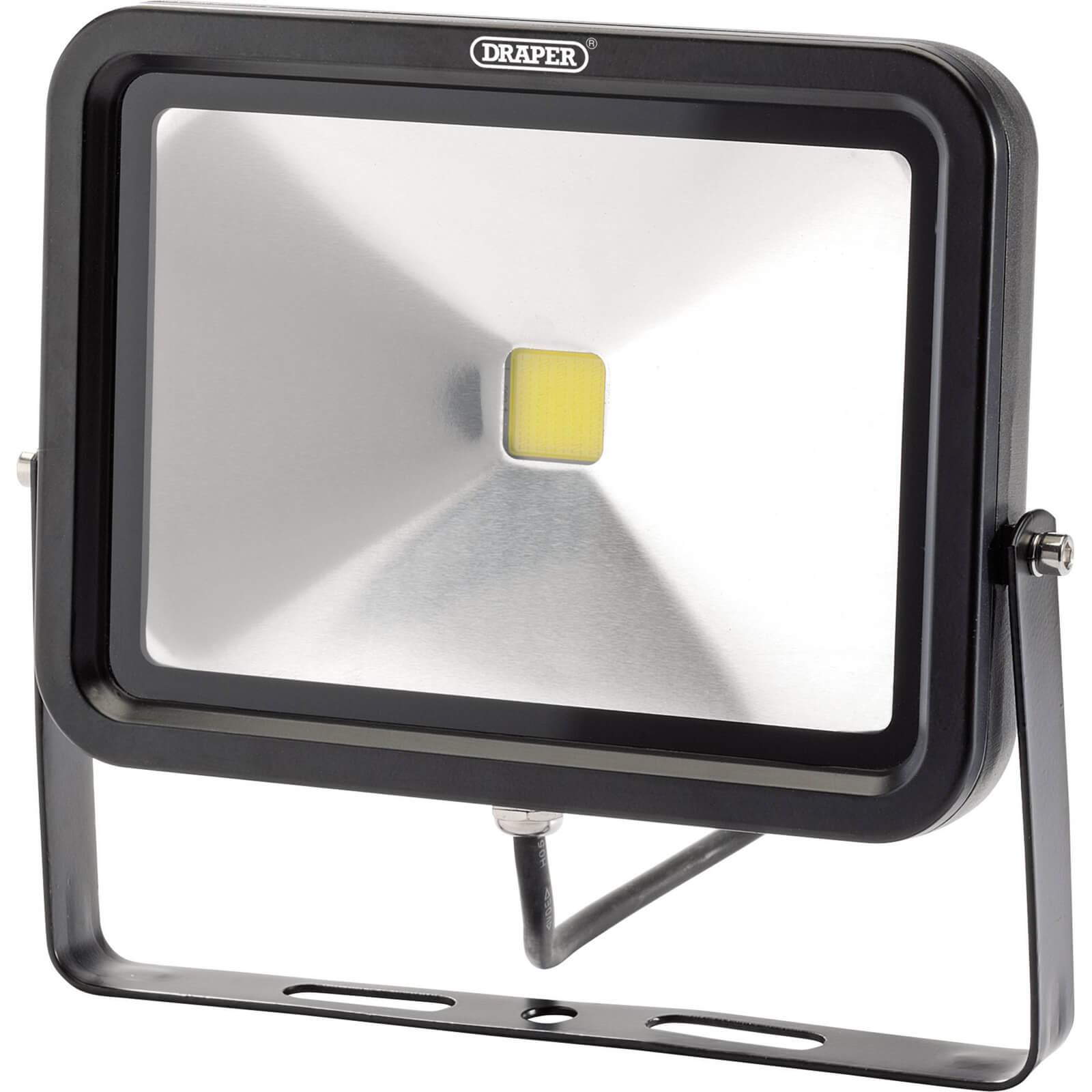 Image of Draper COB LED Slimeline Wall Mounted Floodlight 30 Watts