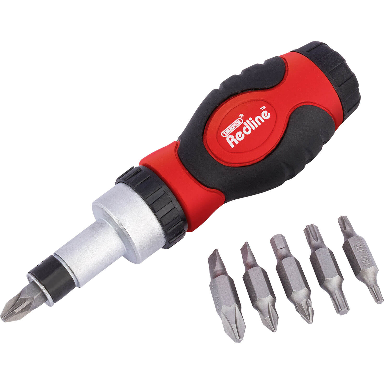 Click to view product details and reviews for Draper 6 Piece Ratcheting Screwdriver And Bit Set.