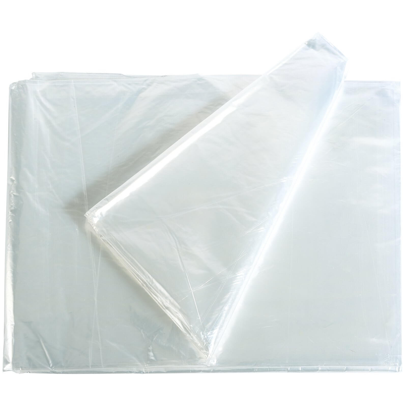 Image of Draper Polythene Dust Sheet 3.6m 3.6m Pack of 1