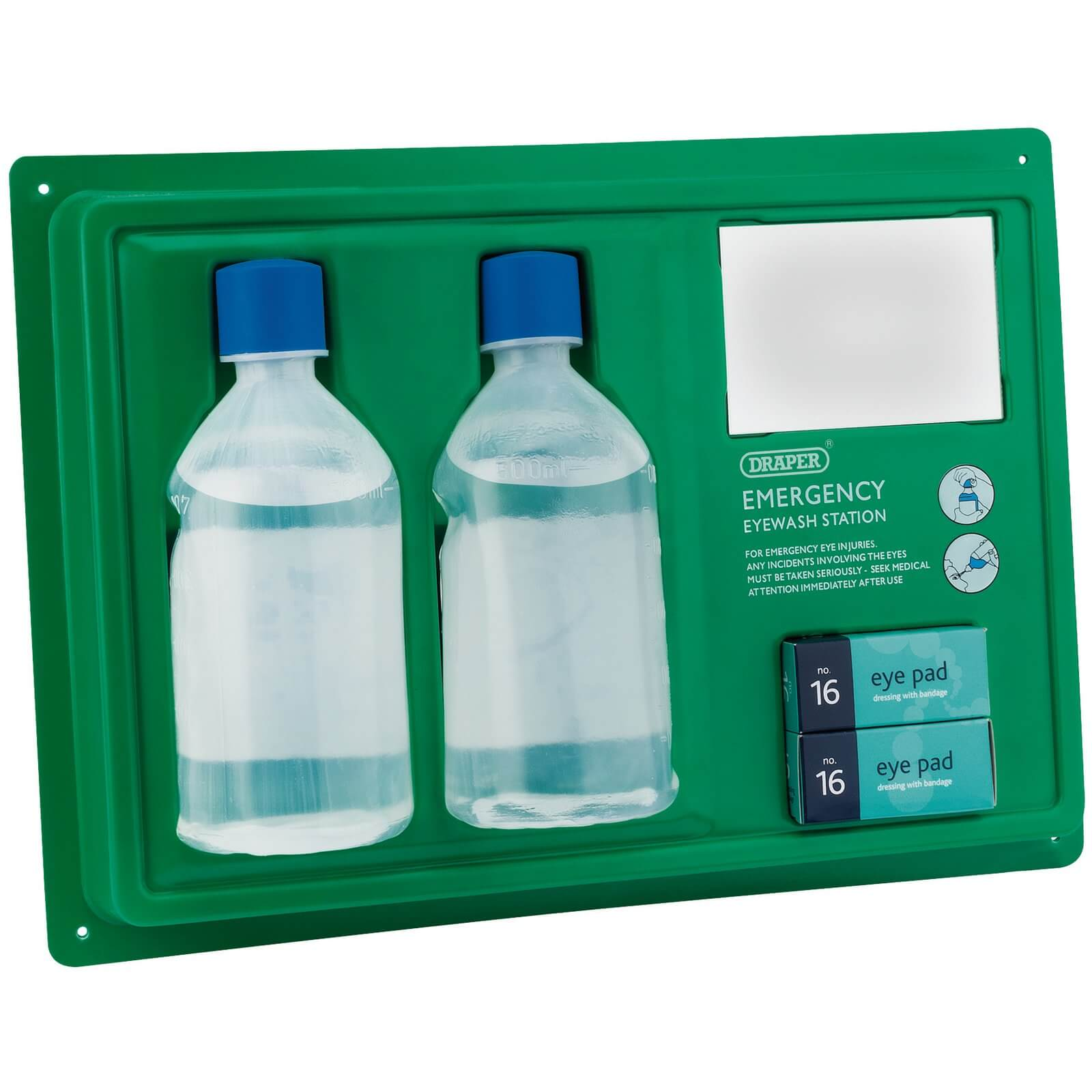 Image of Draper Emergency Sterile Eye Wash Station