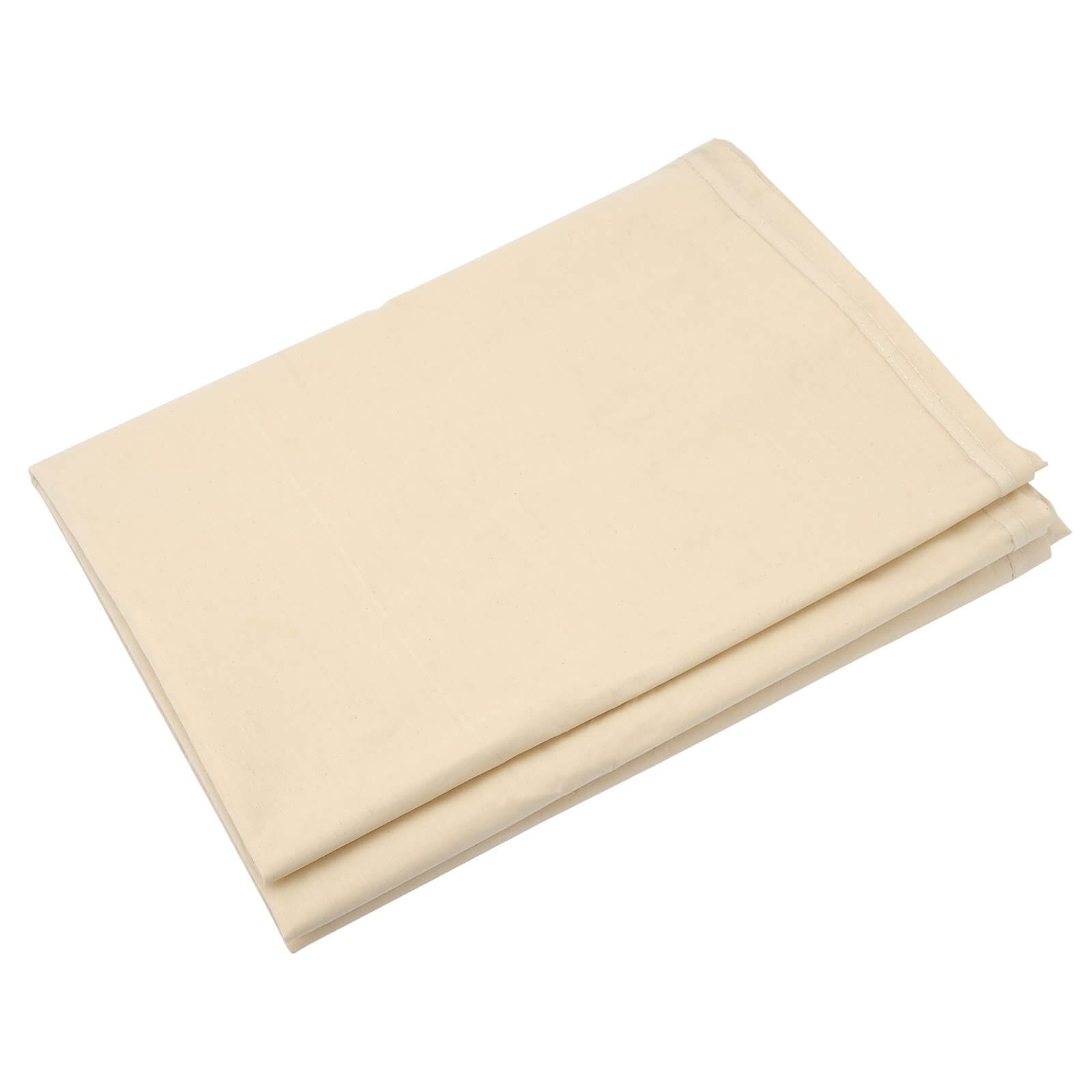 Image of Draper Laminated Cotton Dust Sheet 3.6m 2.7m Pack of 1