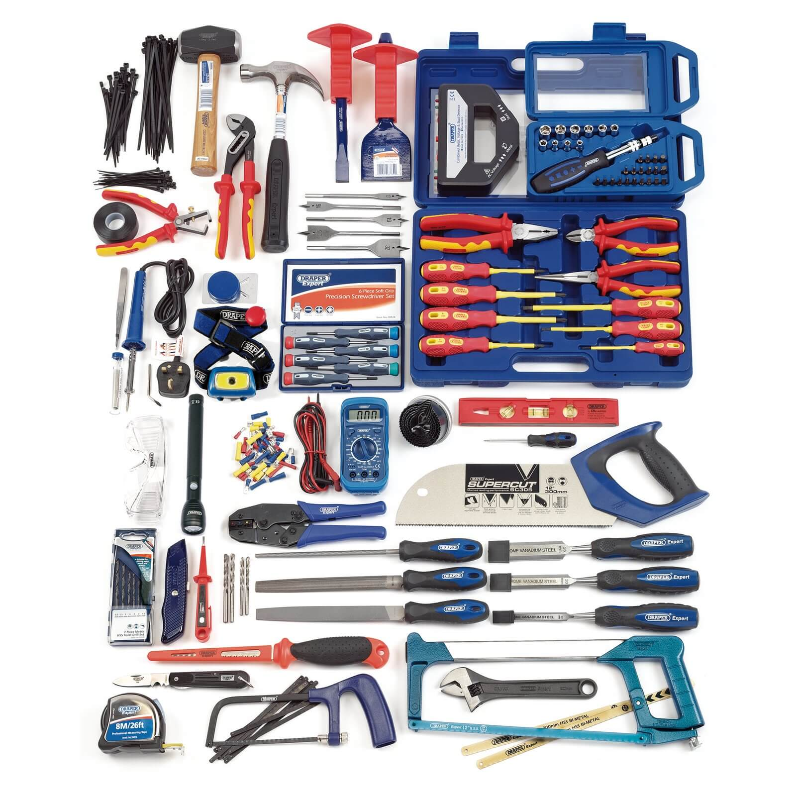 Image of Draper 235 Piece Electricians Tool & Accessory Set
