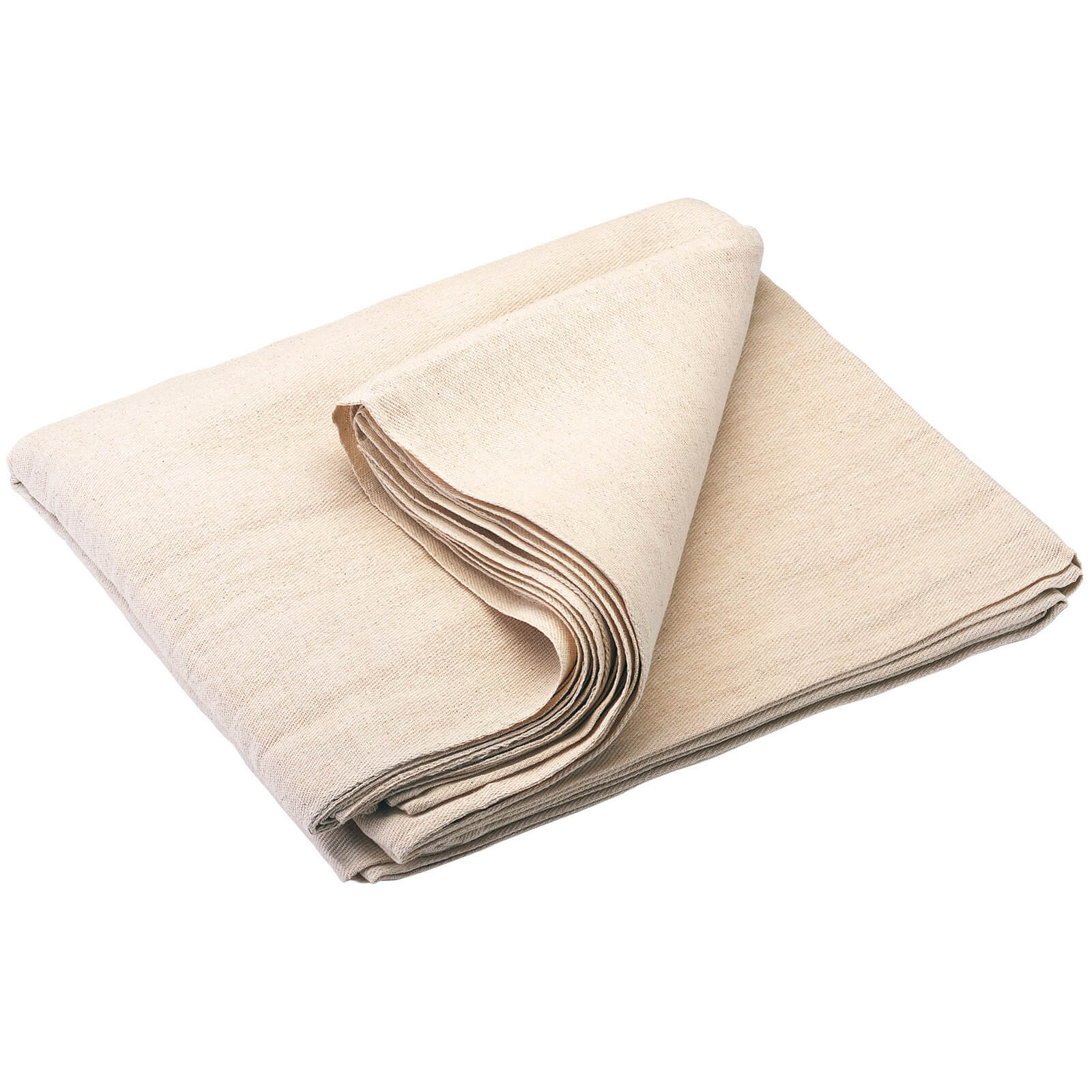 Image of Draper Cotton Dust Sheet 3.6m 3.6m Pack of 1
