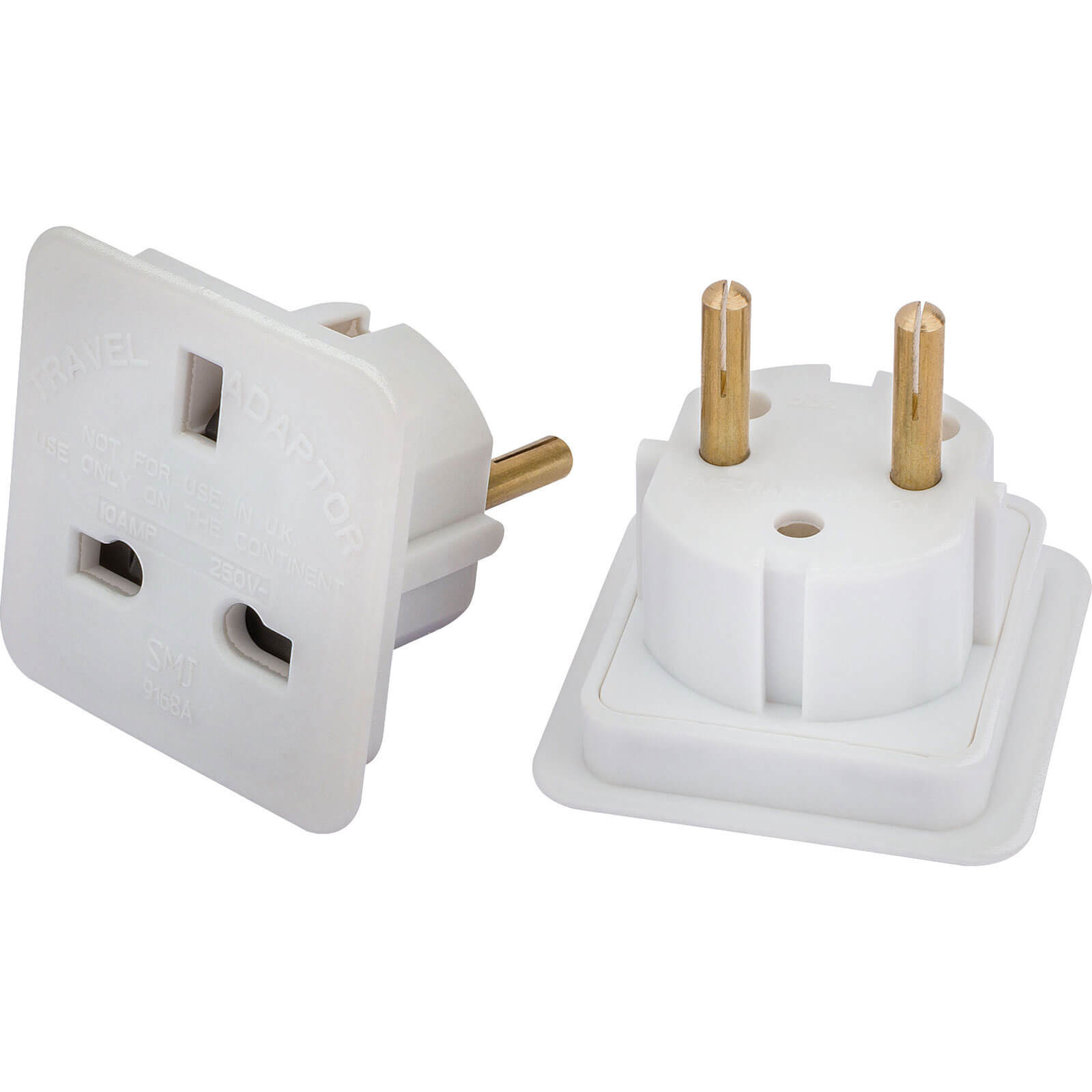 Draper European Travel Adaptors