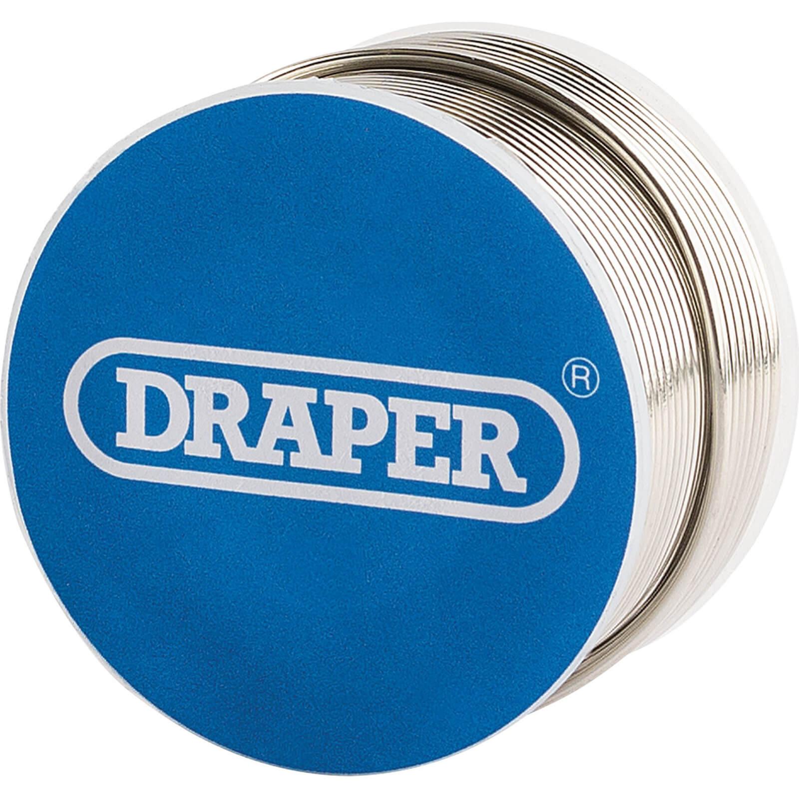 Image of Draper Lead Free Flux Cored Solder Wire Reel 100g
