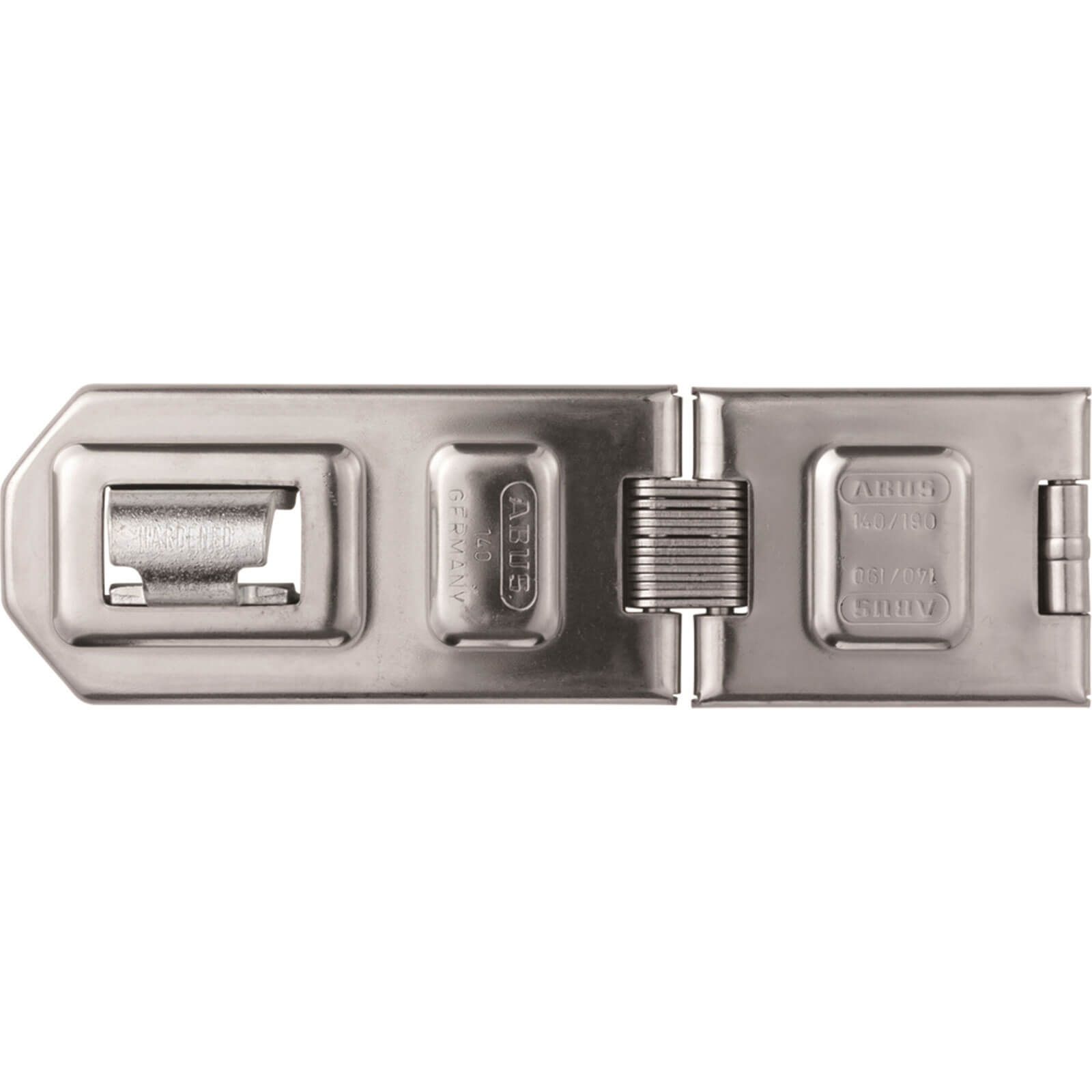 Image of Abus 140 Series Diskus Hasp & Staple Double Jointed 190mm