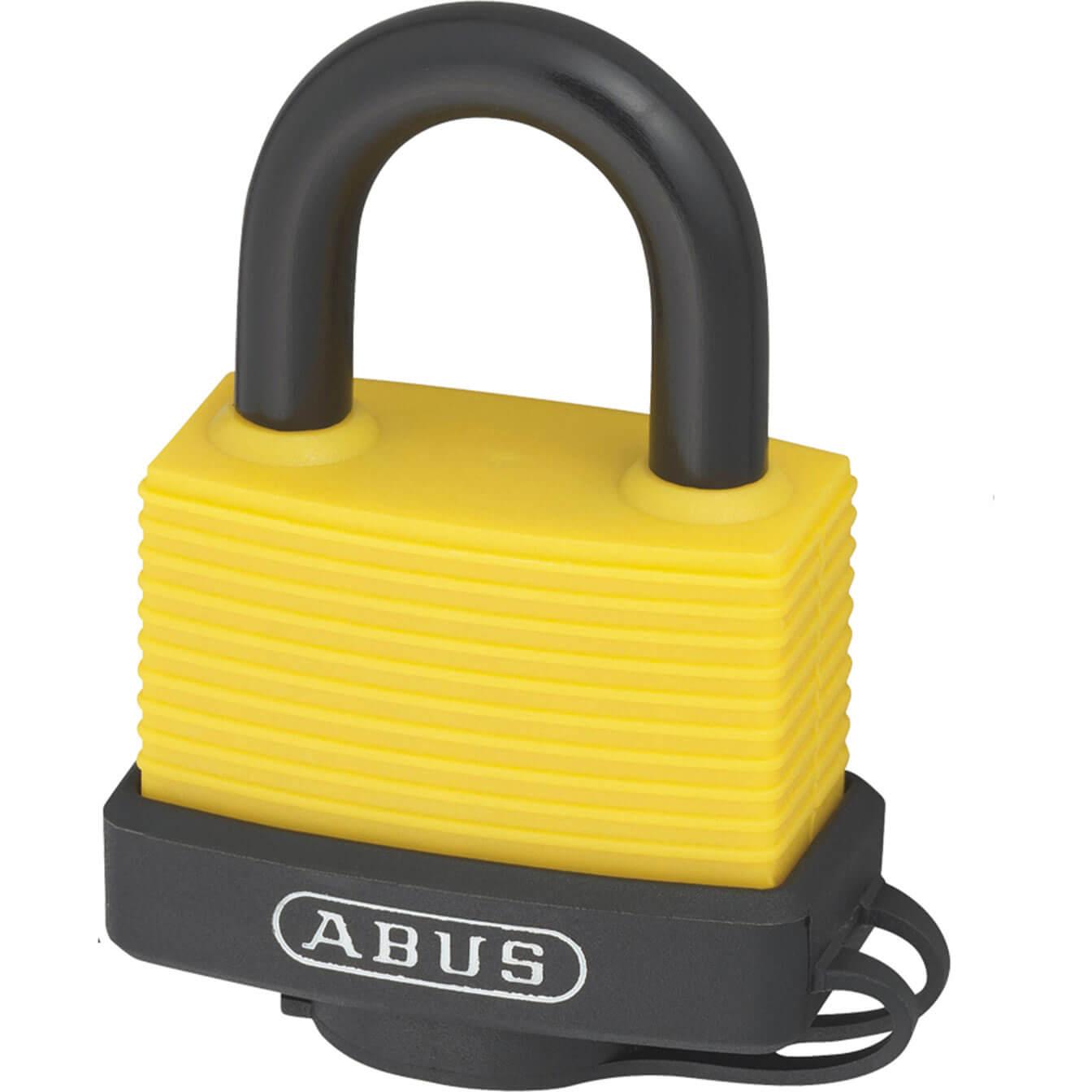 Abus 70al Series Aluminium Padlock 45mm Yellow Standard