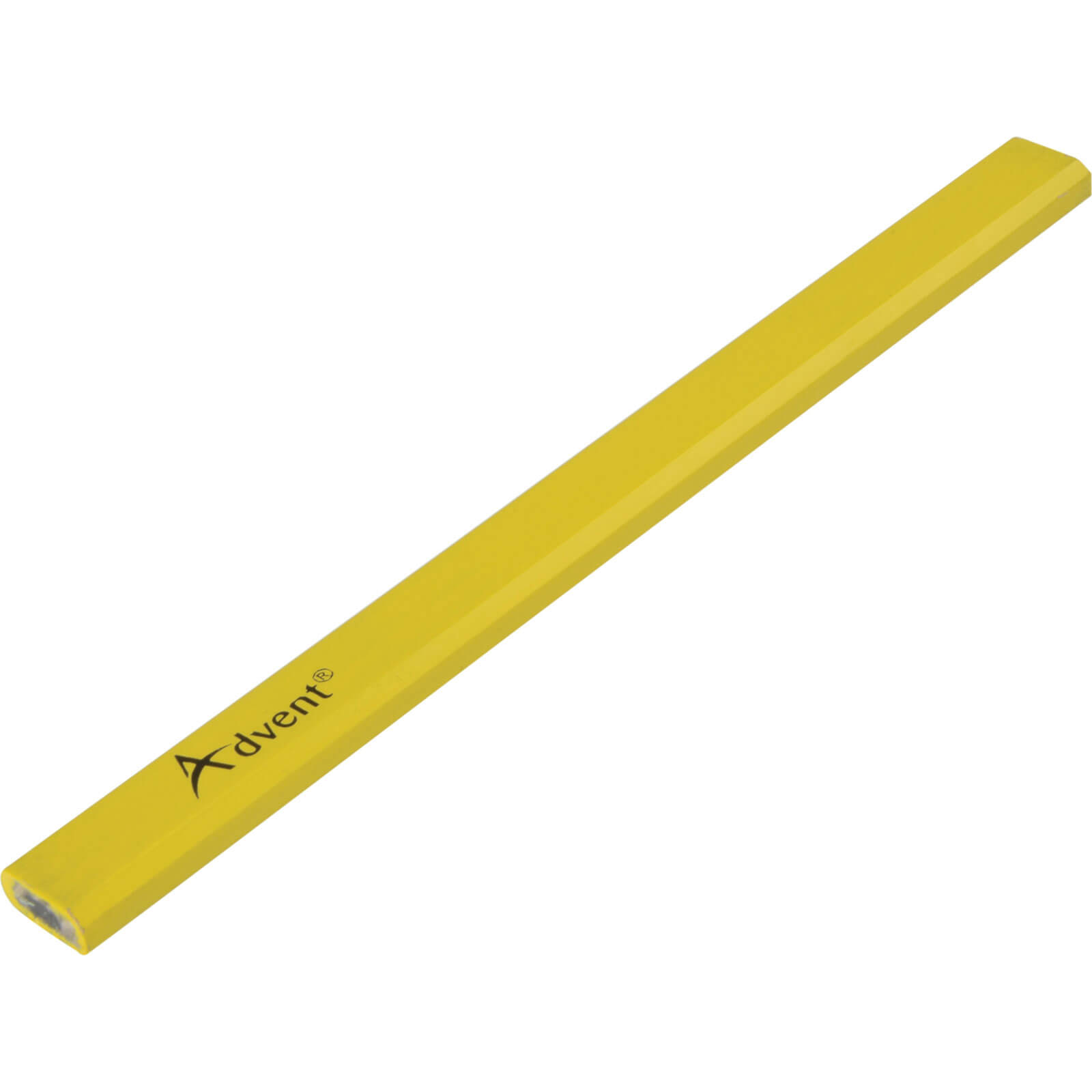 Image of Advent Yellow Medium Lead Carpenter Pencils Pack of 72