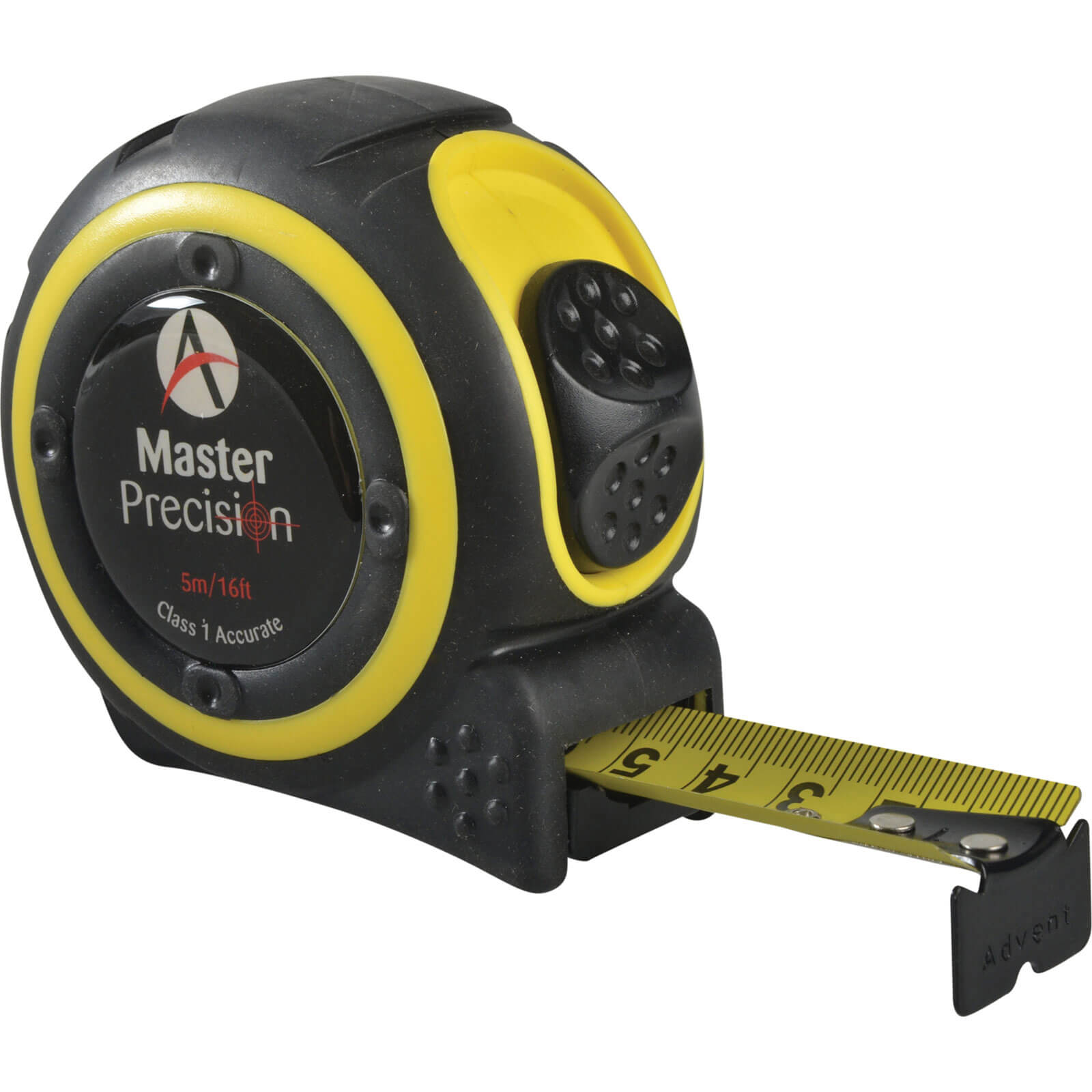 Click to view product details and reviews for Advent Master Precision Class 1 Tape Measure Imperial Metric 16ft 5m 25mm.