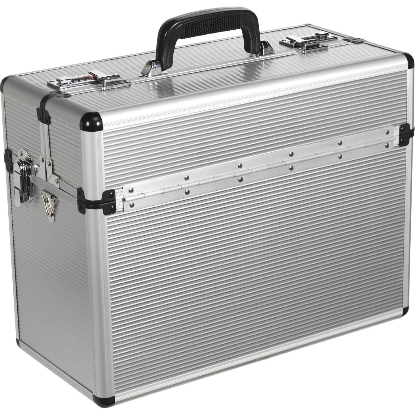Sealey Polished Aluminium Pilot Style Tool Case