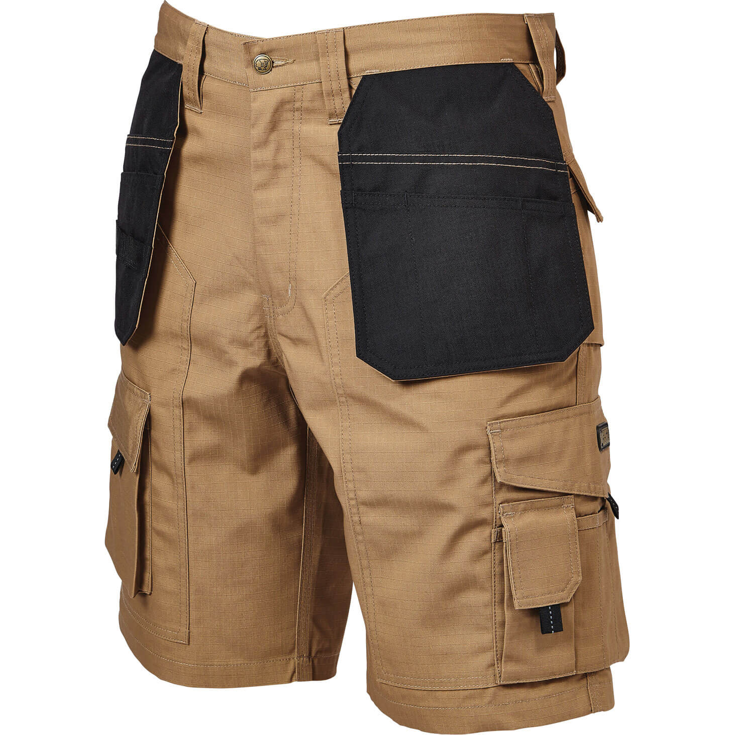 Image of Apache Rip Stop Holster Light Weight Work Shorts Stone 30""