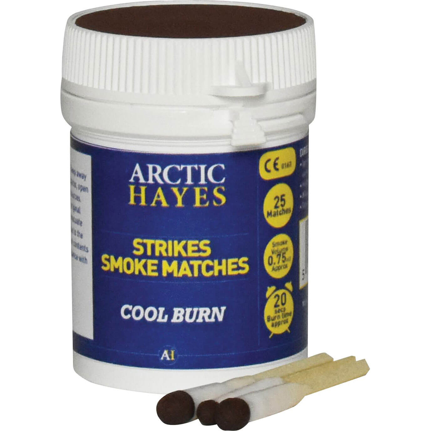 Arctic Hayes Strikes Smoke Matches Pack of 25