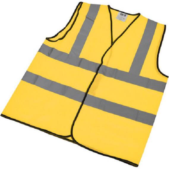 Avit High Vis Waistcoat Yellow XL