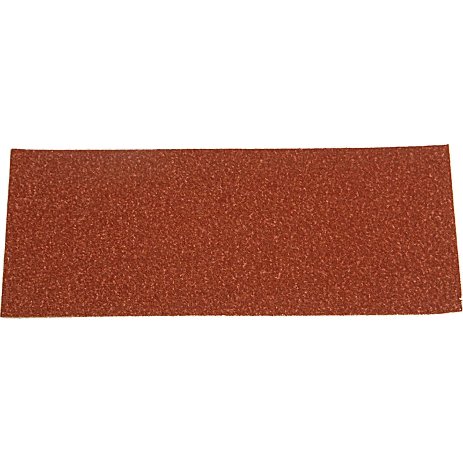 Image of Black & Decker 1/3 Sanding Sheets 100g Pack of 5