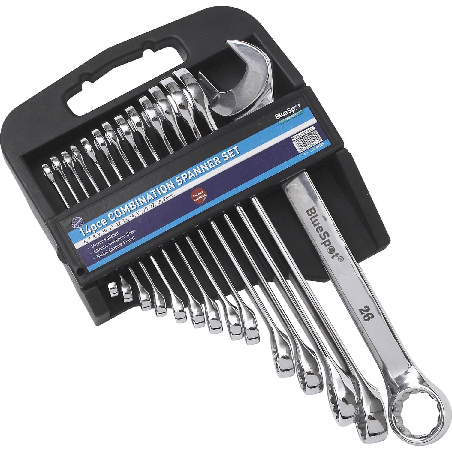Image of BlueSpot 14 Piece Combination Spanner Set Metric