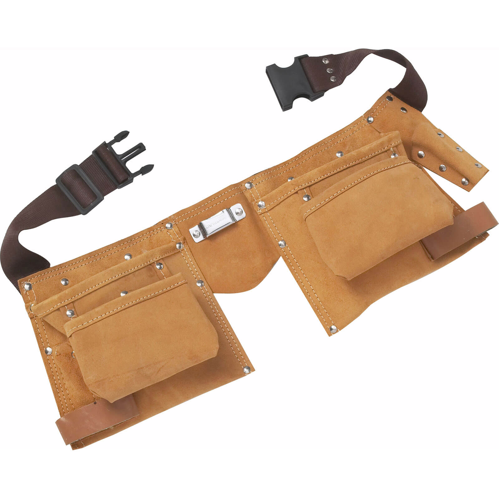 Image of BlueSpot Tool Belt and Double Leather Tool Pouch