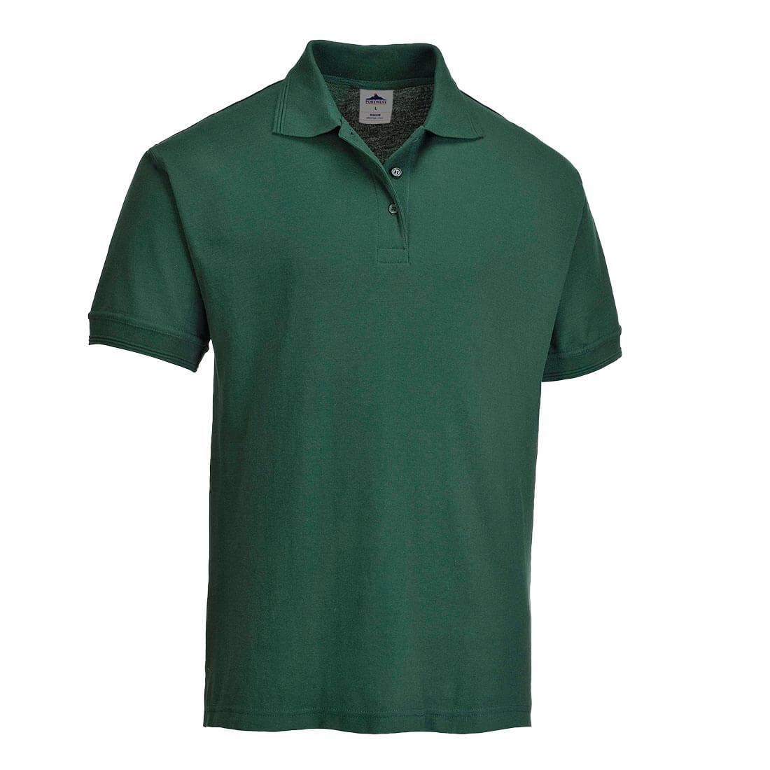Portwest Ladies Naples Polo Shirt Bottle Green S