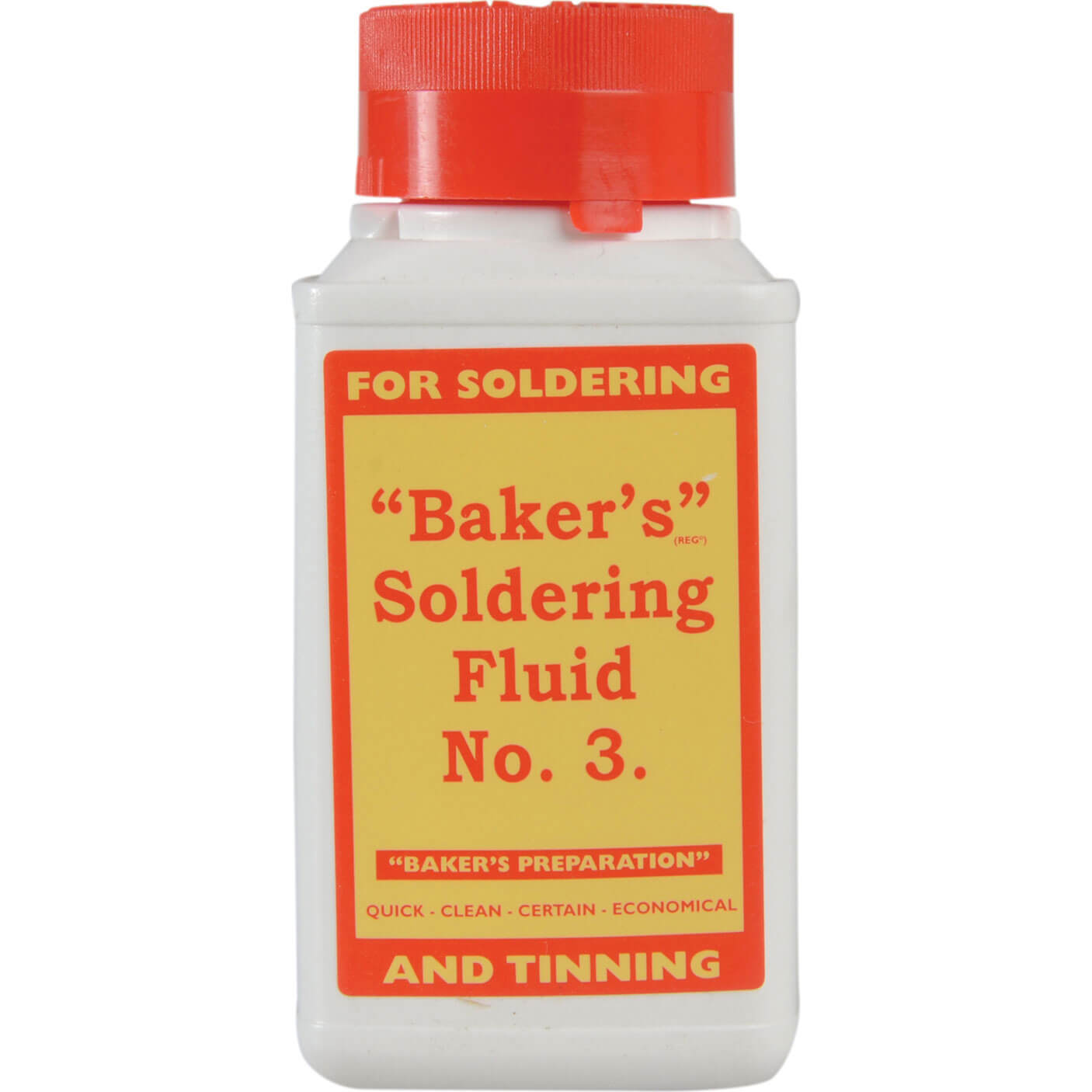 Image of Bakers No.3 Soldering Fluid 125ml
