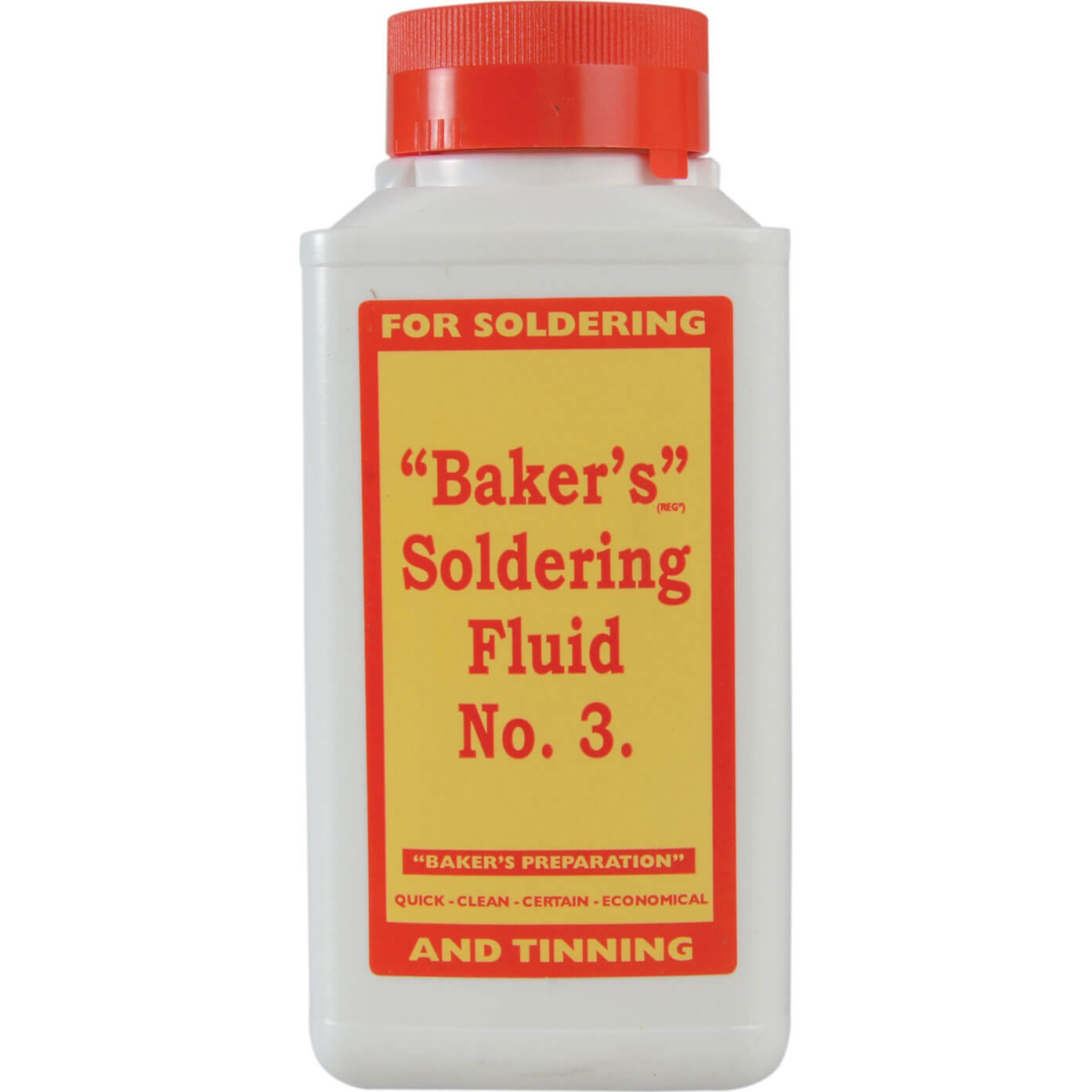 Image of Bakers No.3 Soldering Fluid 250ml