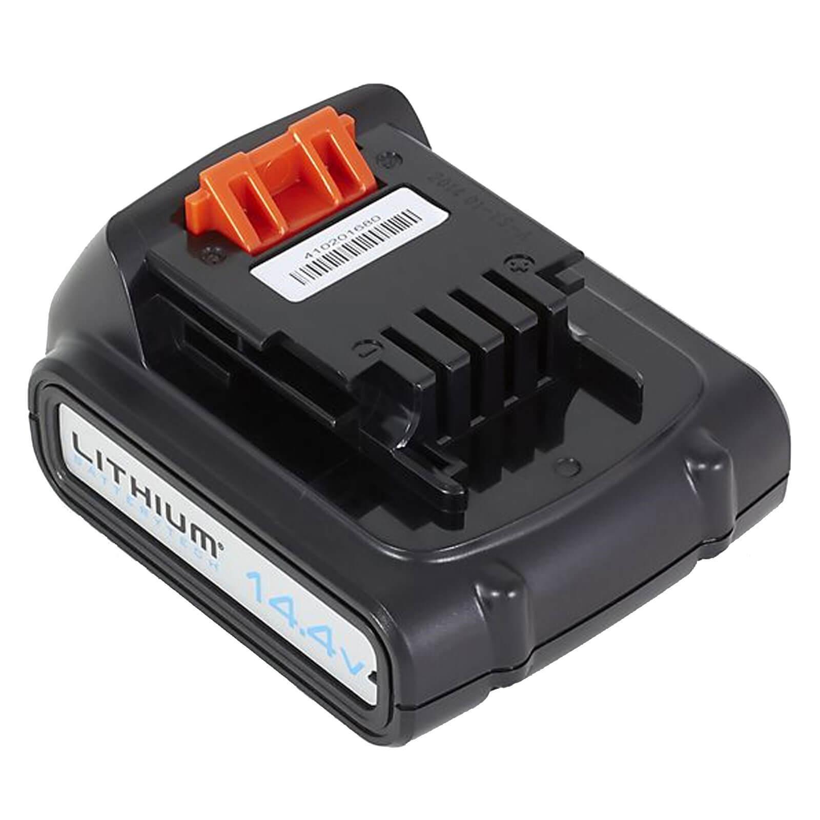 Image of Black & Decker Genuine BL1514 14.4v Cordless Li-ion Battery 1.5ah 1.5ah
