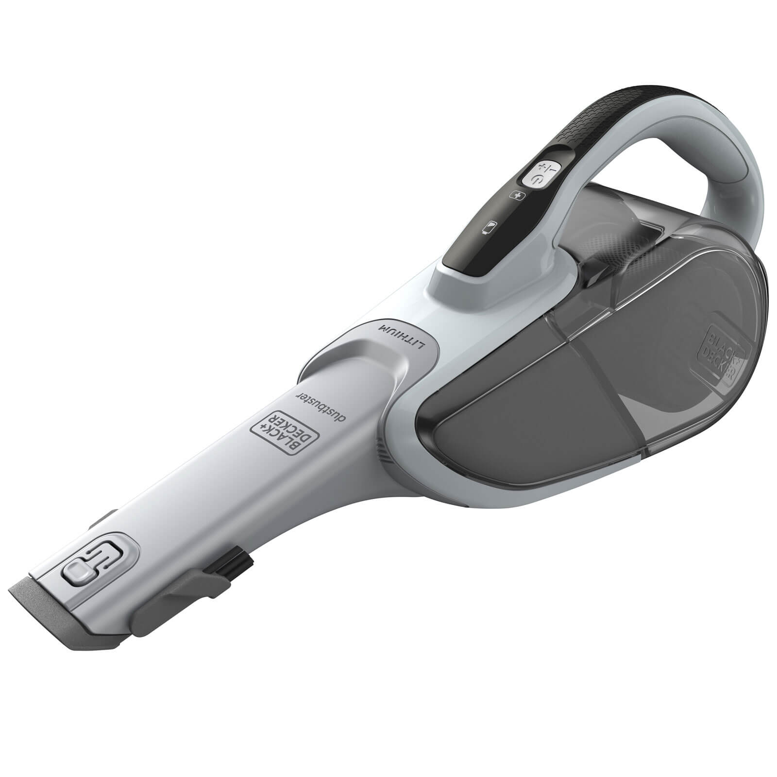 Image of Black & Decker DVJ215J 7.2v Cordless Gen10 Cyclonic Dustbuster 1 x 1.5ah Integrated Li-ion Charger No Case