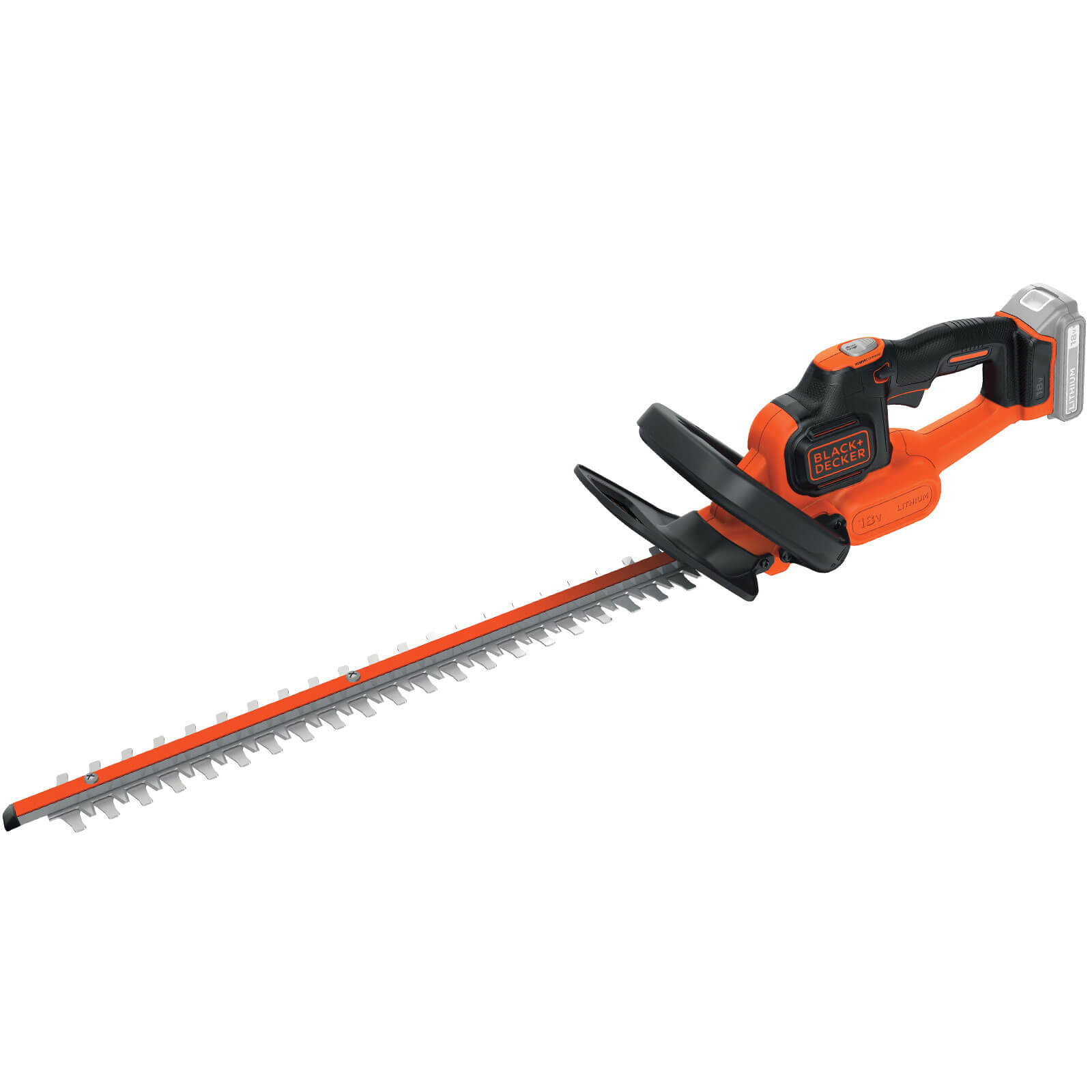 Image of Black & Decker GTC18452PC 18v Cordless Hedge Trimmer 450mm No Batteries No Charger