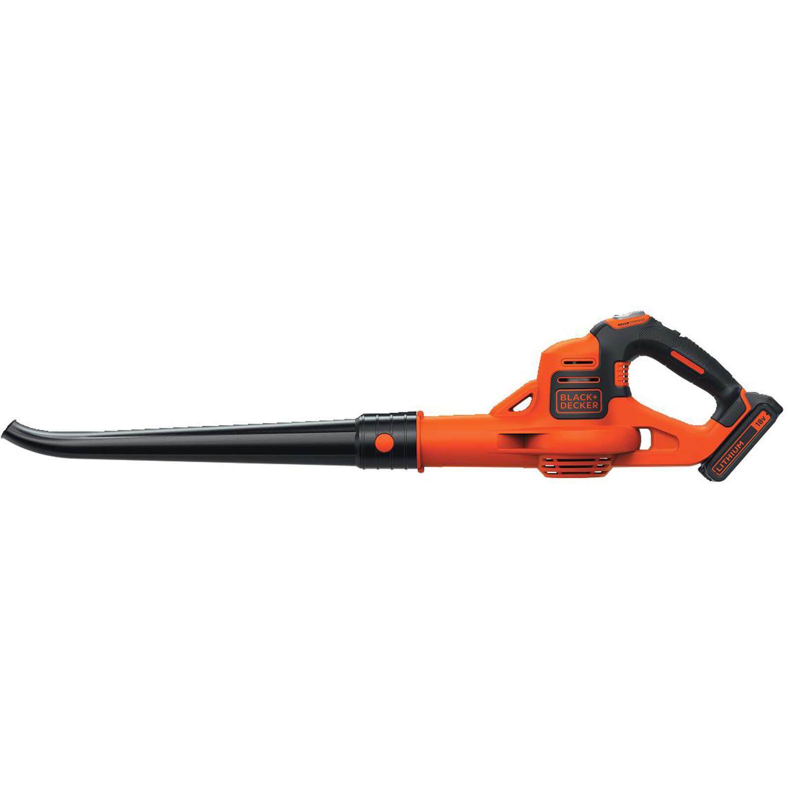 Black & Decker GWC1820PC 18v Cordless Vacuum & Leaf Blower 1 x 2ah Liion Charger