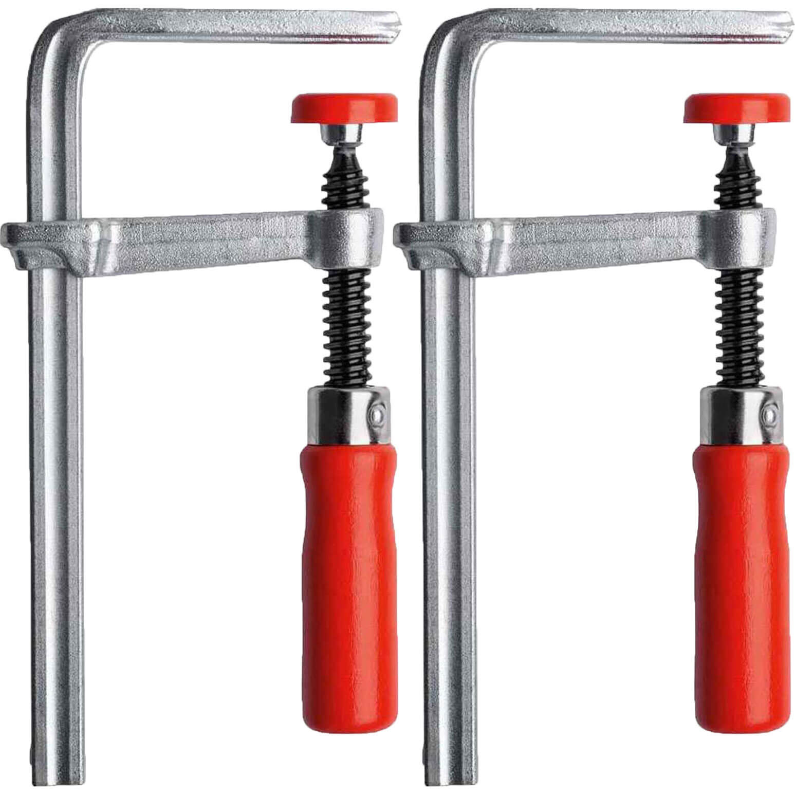 Image of Bessey 2 Piece GTR Guide Rail Clamp Set