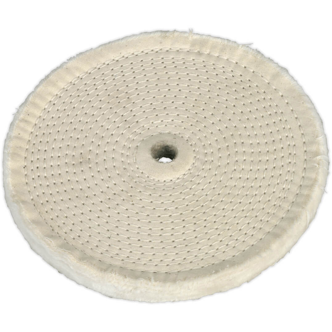 sealey 200mm buffing wheel for bench grinder