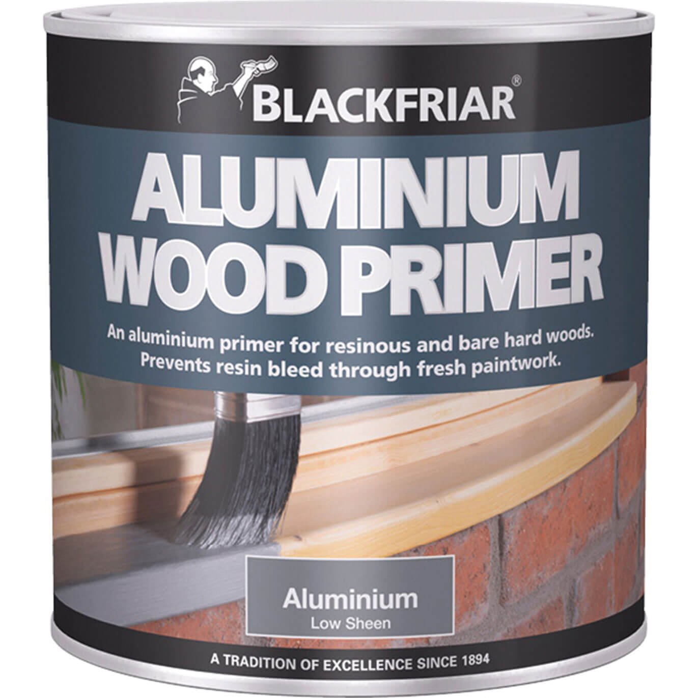 Image of Blackfriar Aluminium Wood Primer Aluminium 250ml