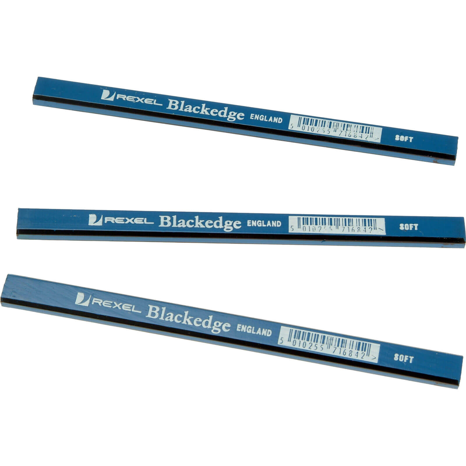 Image of Blackedge Carpenters Pencils Soft Pack of 12