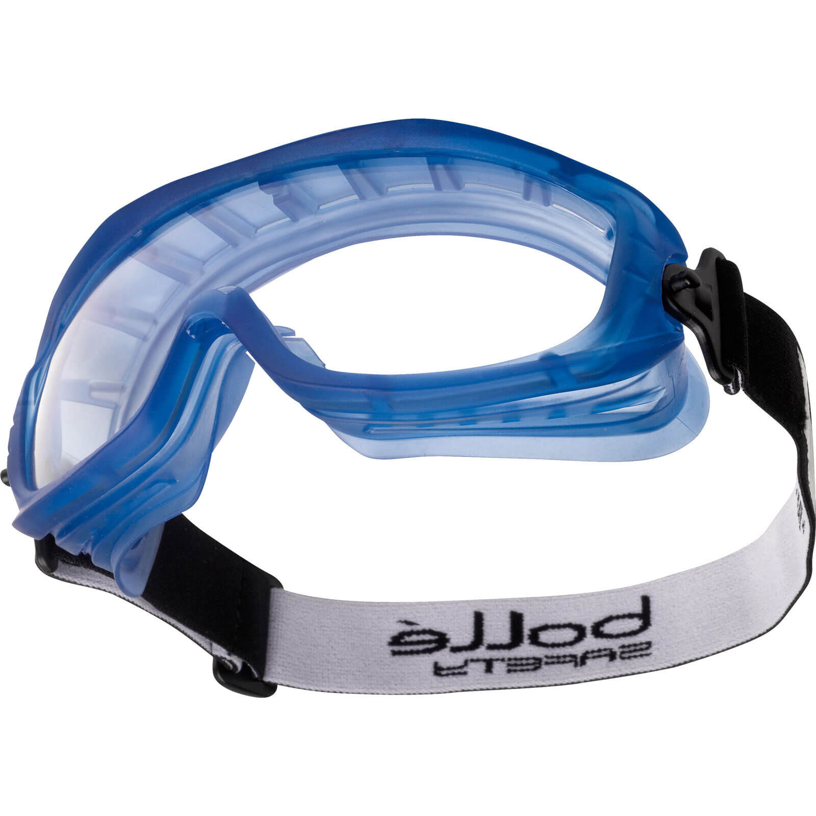 Image of Bolle Atom ATOEPSI Clear Blue Anti Scratch & Anti Fog Safety Goggles