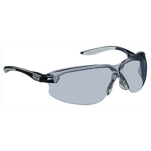 Image of Bolle Axis AXPSF Polycarbonate Smoke Safety Glasses