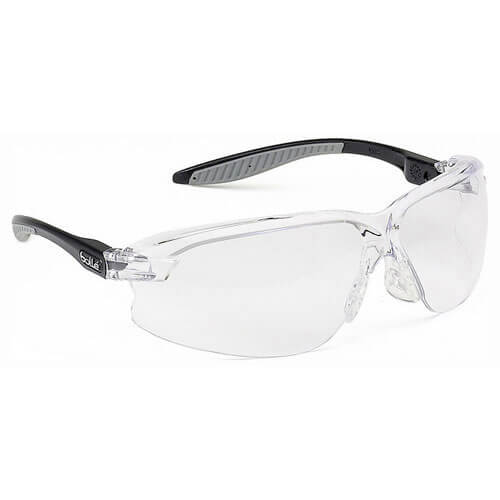 Image of Bolle Axis AXPSI Polycarbonate Clear Safety Glasses