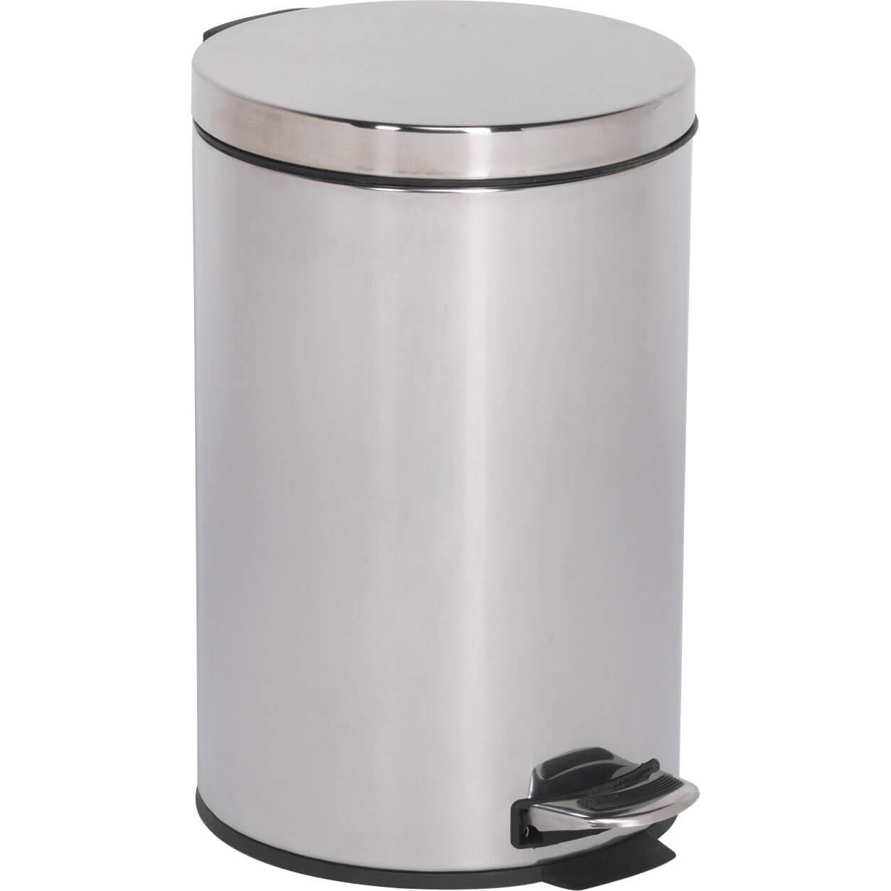 Image of Sealey Stainless Steel Pedal Bin 12l