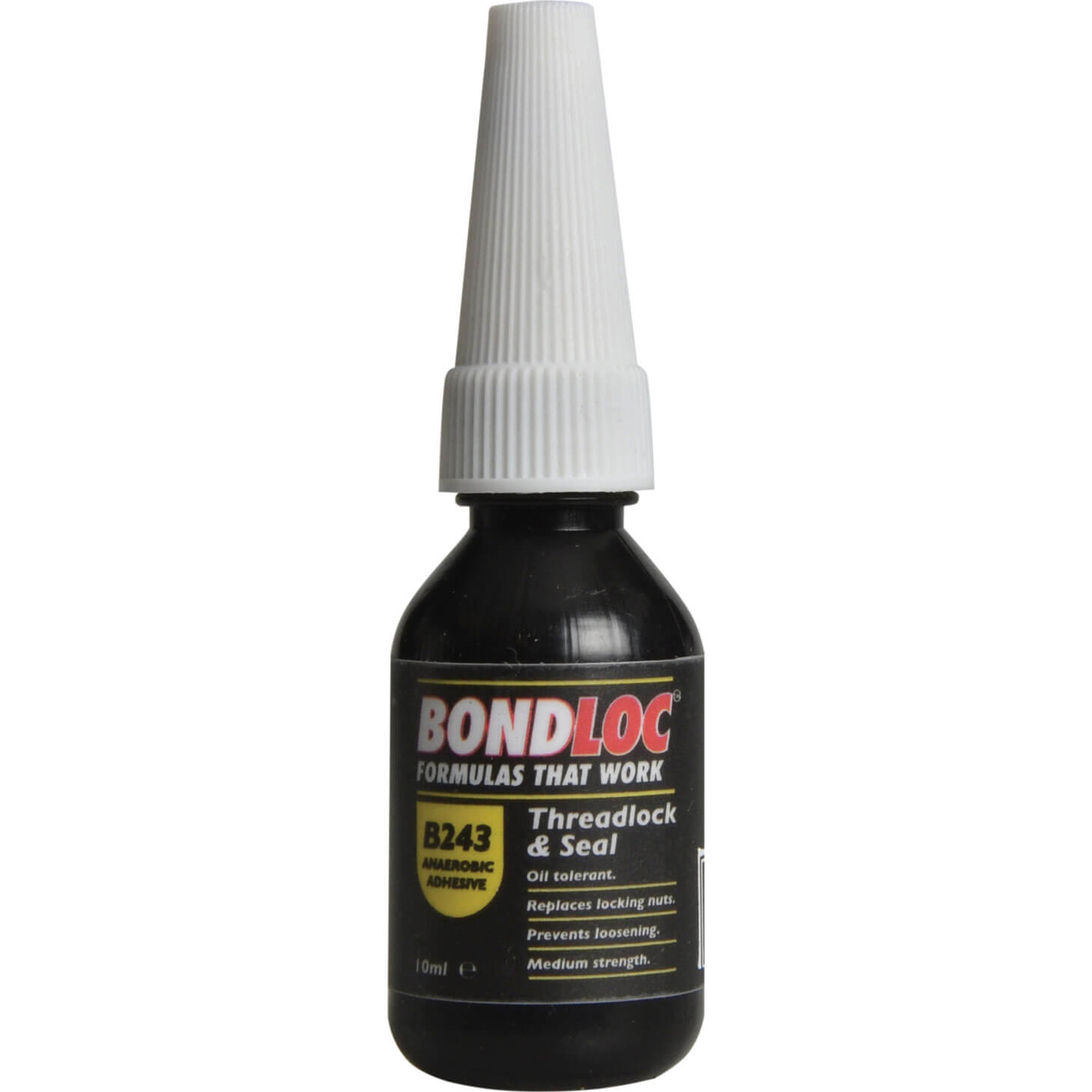 Image of Bondloc B243 Nutlock Medium Strength Threadlocking Sealant 10ml