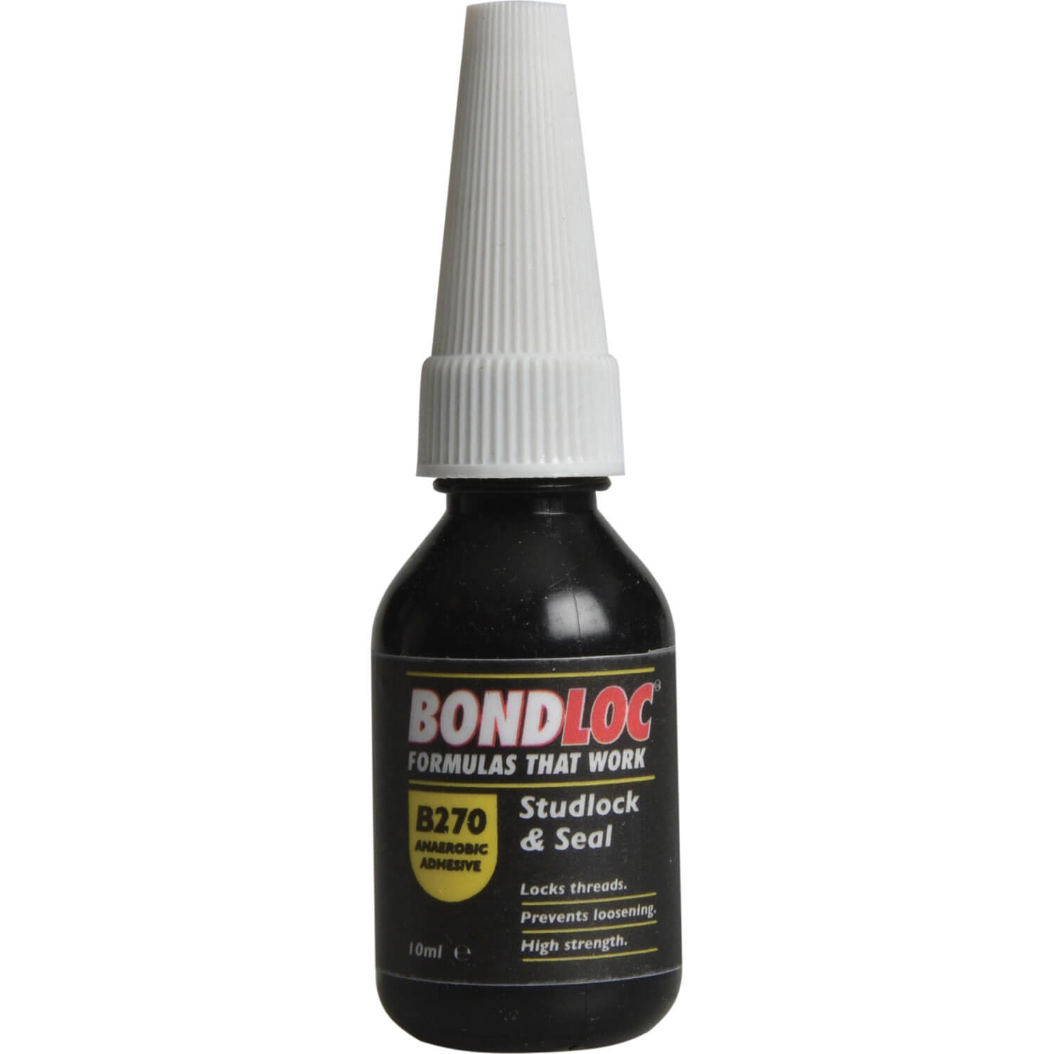 Image of Bondloc B270 Studlock High Strength Threadlocking Sealant 10ml