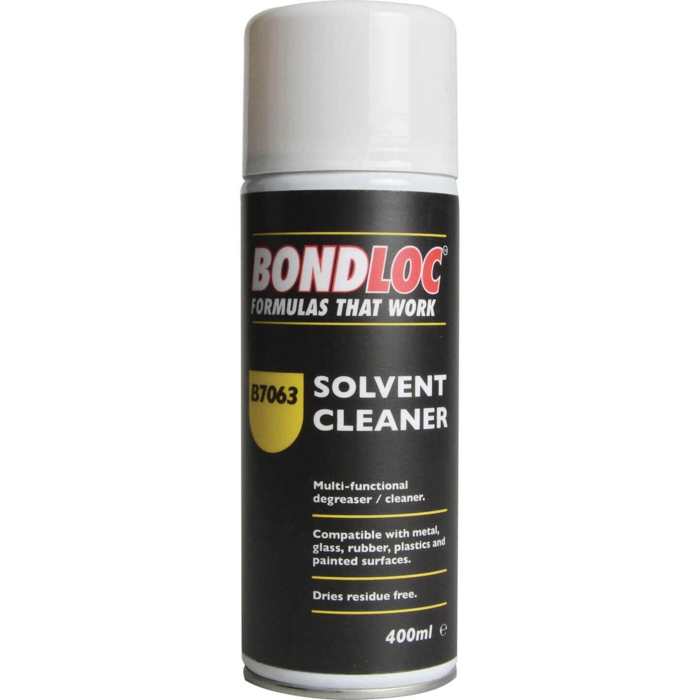 Image of Bondloc B7063 Solvent Cleaning & Degreasing Compound 400ml