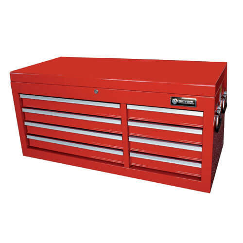 Image of Britool 8 Drawer Wide Tool Chest Red