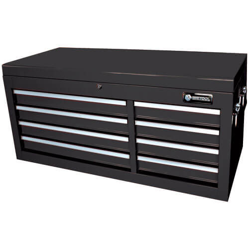 Image of Britool 8 Drawer Extra Wide Tool Chest Black