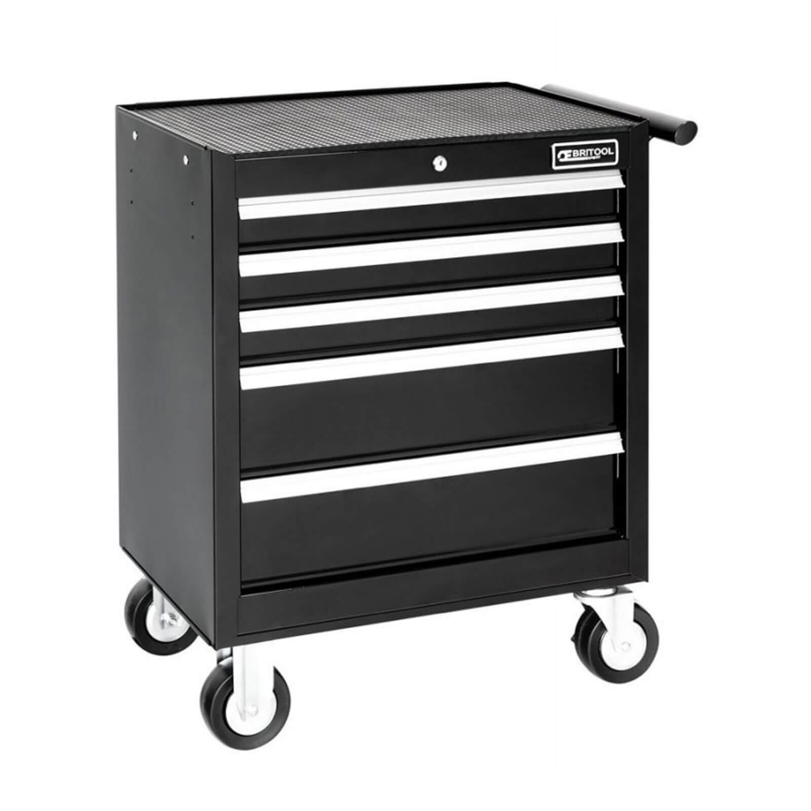 Image of Britool 5 Drawer Roller Cabinet Black