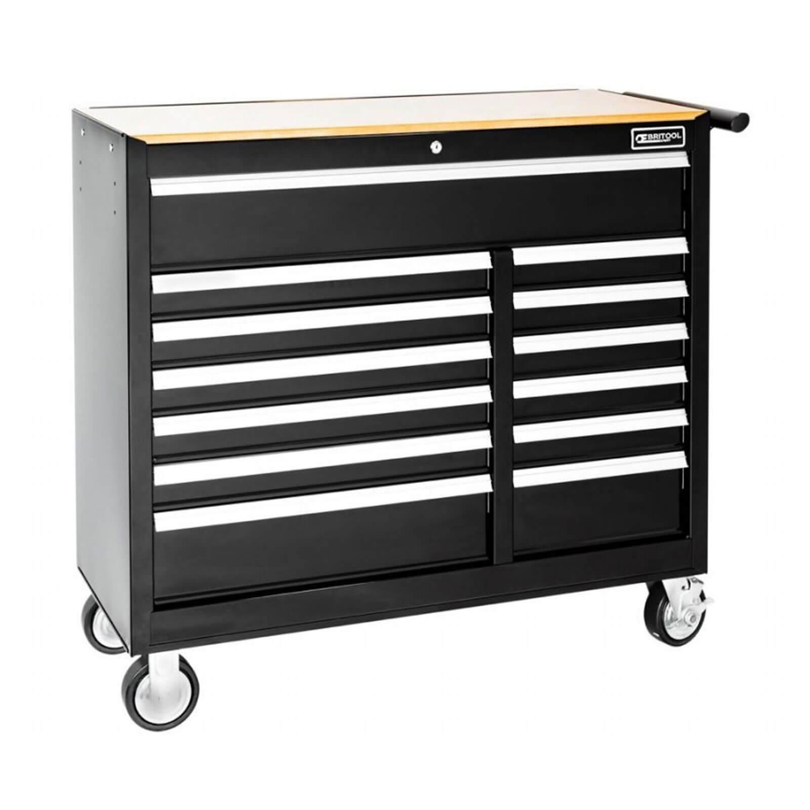 Image of Britool 13 Drawer Roller Cabinet Black