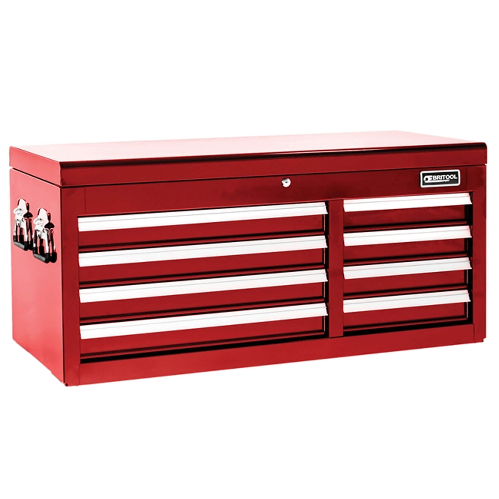 Image of Britool 8 Drawer Tool Chest Red