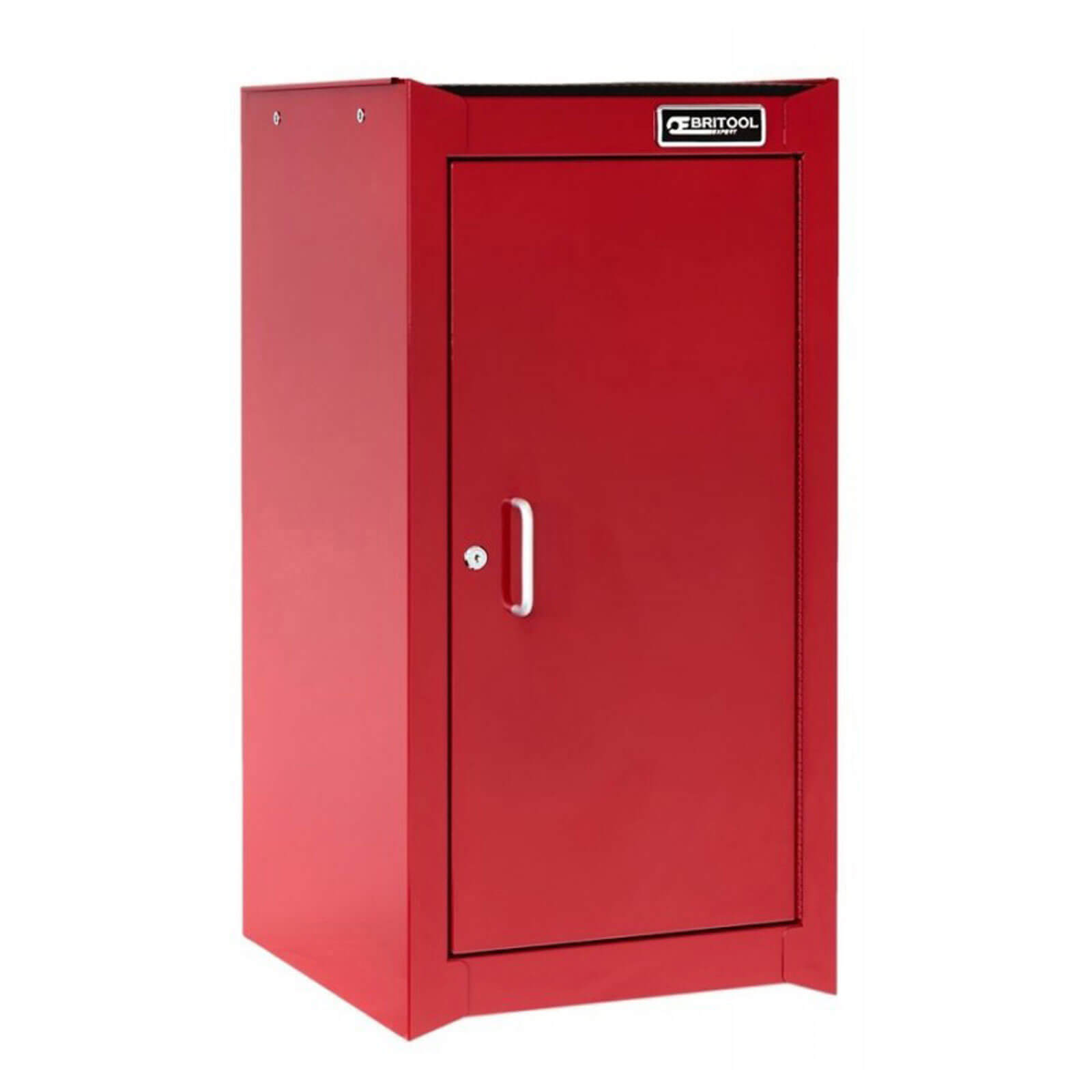 Image of Britool Heavy Duty Lockable Tool Cabinet Red