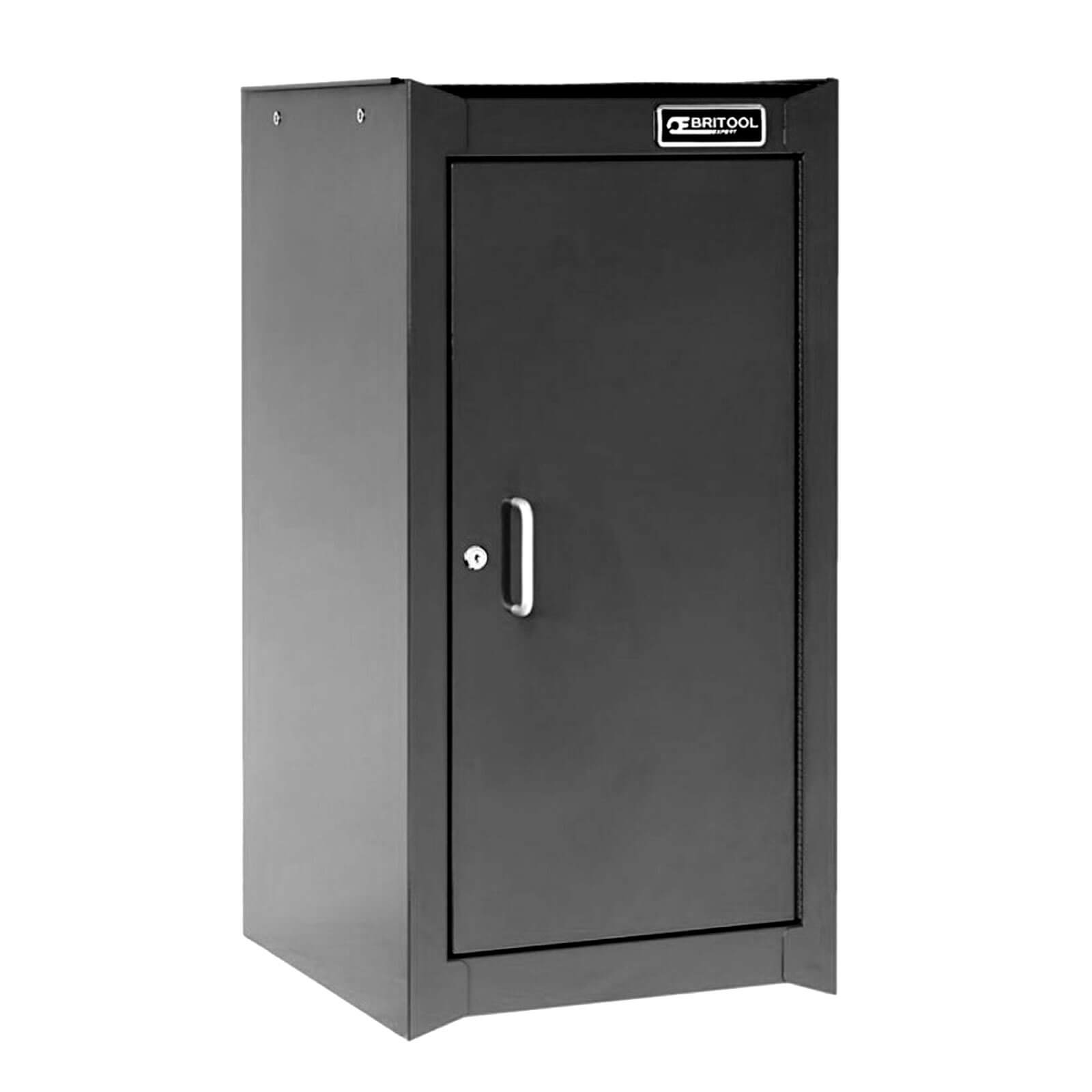 Image of Britool Heavy Duty Lockable Tool Cabinet Black