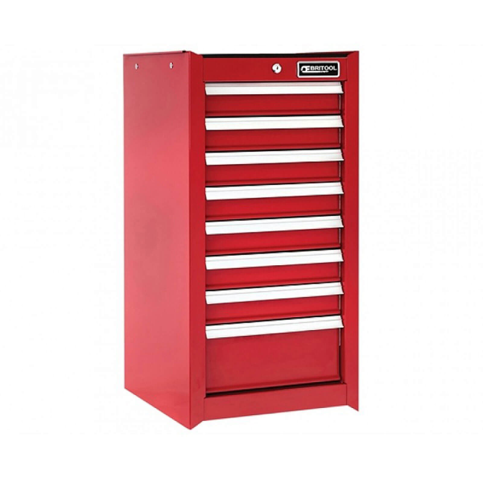 Image of Britool 8 Drawer Tool Cabinet Red